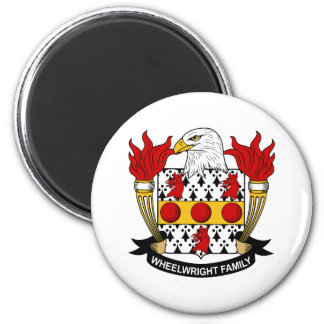 Wheelwright Family Crest Magnet