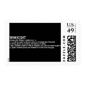 Wheesht Stamp