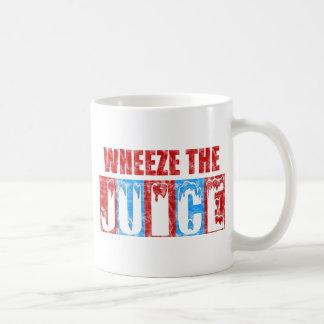 Wheeze el jugo taza de café