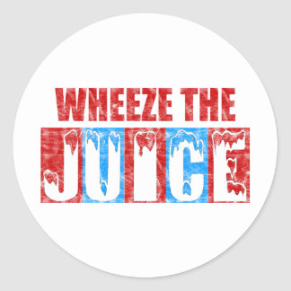Wheeze the Juice Classic Round Sticker