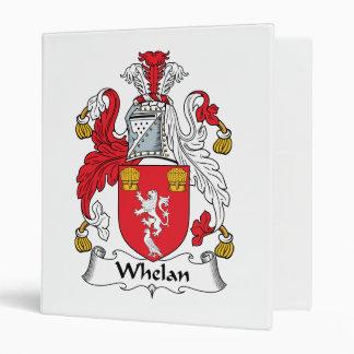 Whelan Family Crest 3 Ring Binders