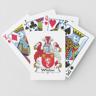 Whelan Family Crest Bicycle Poker Cards