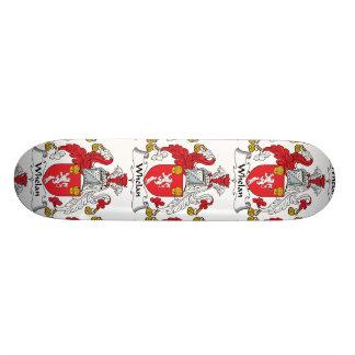 Whelan Family Crest Custom Skate Board