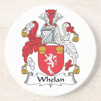 Whelan Family Crest Drink Coasters