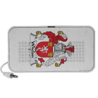 Whelan Family Crest iPhone Speaker