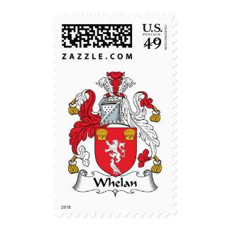 Whelan Family Crest Stamp