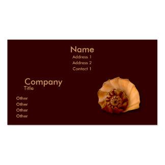 Whelk Left Turn Business Card Template
