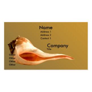 Whelk Left Turn Business Cards
