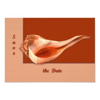 Whelk Left Turn 5x7 Paper Invitation Card