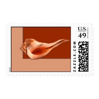 Whelk Left Turn Stamps