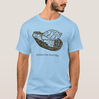 Whelks are boring Men blue T-Shirt
