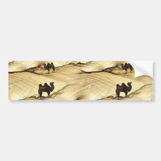 When a Camel Meets A Camel Car Bumper Sticker