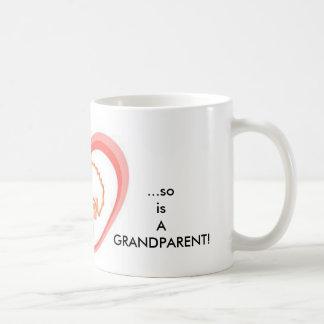 When a child is born so is a grandparent! coffee mug