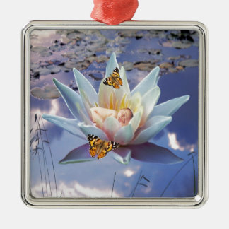 When a little baby goes to sleep christmas tree ornament