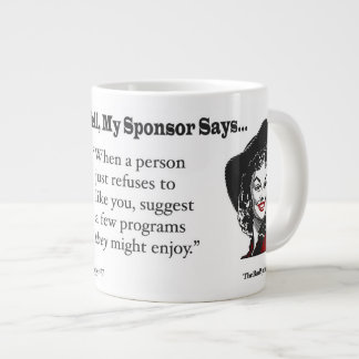 When a person just refuses to like you.... large coffee mug