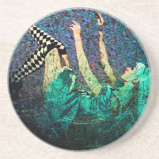 WHEN ALICE FELL.jpg Sandstone Coaster