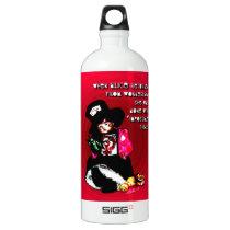 """""""When Alice Returned"""" by Aleta Water Bottle"""