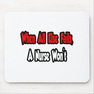 When All Else Fails, A Nurse Won't Mouse Pad