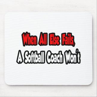 When All Else Fails, A Softball Coach Won't Mouse Pad