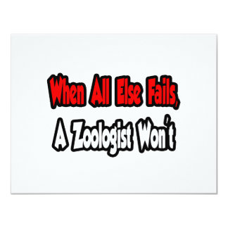 When All Else Fails, A Zoologist Won't Card