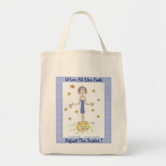 When All Else Fails, Adjust The Scales! Tote Bag