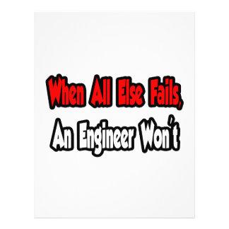 When All Else Fails, An Engineer Won't Flyer