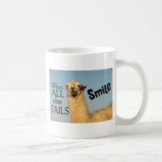 When all else fails Smile Coffee Mug