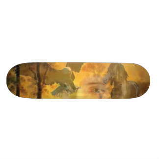 When all is one skateboard