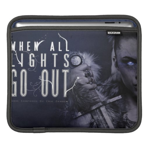When All Lights Go Out iPad Sleeve