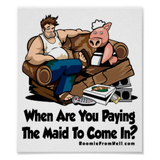When Are You Paying The Made To Come In? Poster