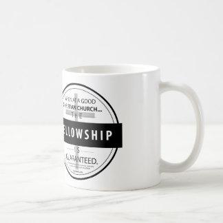 WHEN AT A GOOD CHRISTIAN CHURCH, COFFEE mug