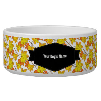 When Autumn Leaves Fall Bowl