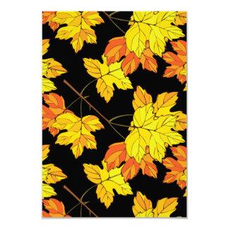 When Autumn Leaves Fall Card