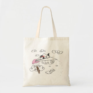WHEN BUNNIES ATTACK TOTE BAG