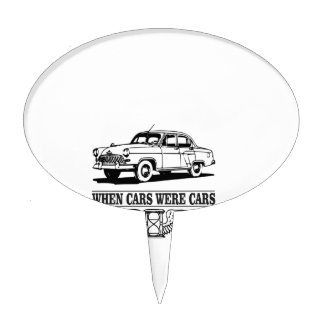 when cars were cars yeah cake topper