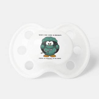 When Code Is Broken There Surgery To Be Done Tux Pacifier