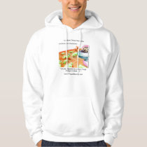 When Cows Ruled The Universe Funny Hoodie by Rick
