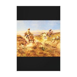 When Cows were Wild_Art of America Canvas Print