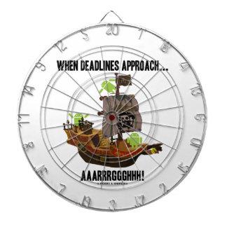 When Deadlines Approach Aaarrrggghhh Bugdroid Dart Boards