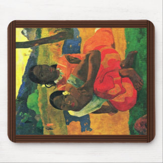 When Did You Marry? (Faa Nafea Ipoipo?) By Gauguin Mousepads