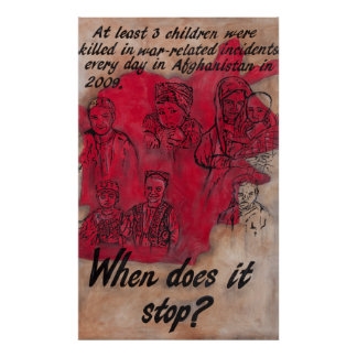 When Does It Stop? Poster