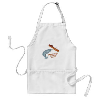 When does the narwhal bacon? adult apron
