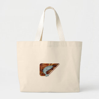 When Does the Narwhal Bacon? Large Tote Bag