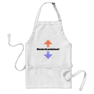 When Does the Narwhal Bacon Upvote Reddit Question Adult Apron