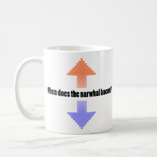 When Does the Narwhal Bacon Upvote Reddit Question Coffee Mug