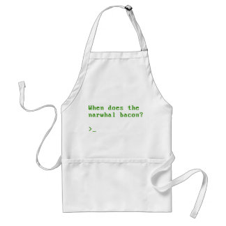 When Does the Narwhal Bacon VGA Reddit Question Aprons