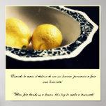 """When fate hands us a lemon, let... Posters"