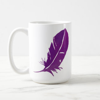 When Feathers Appear Angels Are Near - Large 15 Oz Coffee Mug