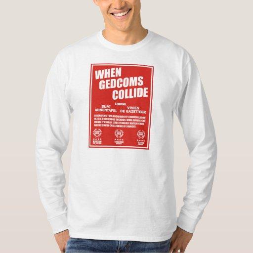 When GEDCOMS Collide Tee Shirt