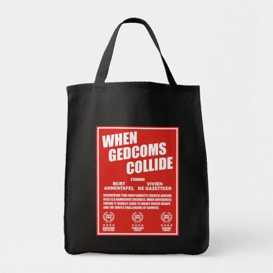 When GEDCOMS Collide Tote Bag